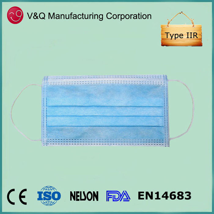 Disposable custom promotional excellent filtering bacteria face mask