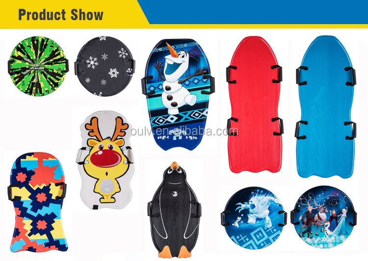 colorful light weight kids  snowboard