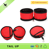 Outdoor Use Waterproof Collapsible Food And Water Pet Bowl