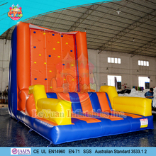 2017 Inflatable Climbing Rock Wall/ Inflatable climbing mountain