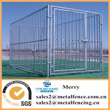 Powder painted Europen style 12mm bar training dog cages welded tube large outdoor dog kennels enclosures