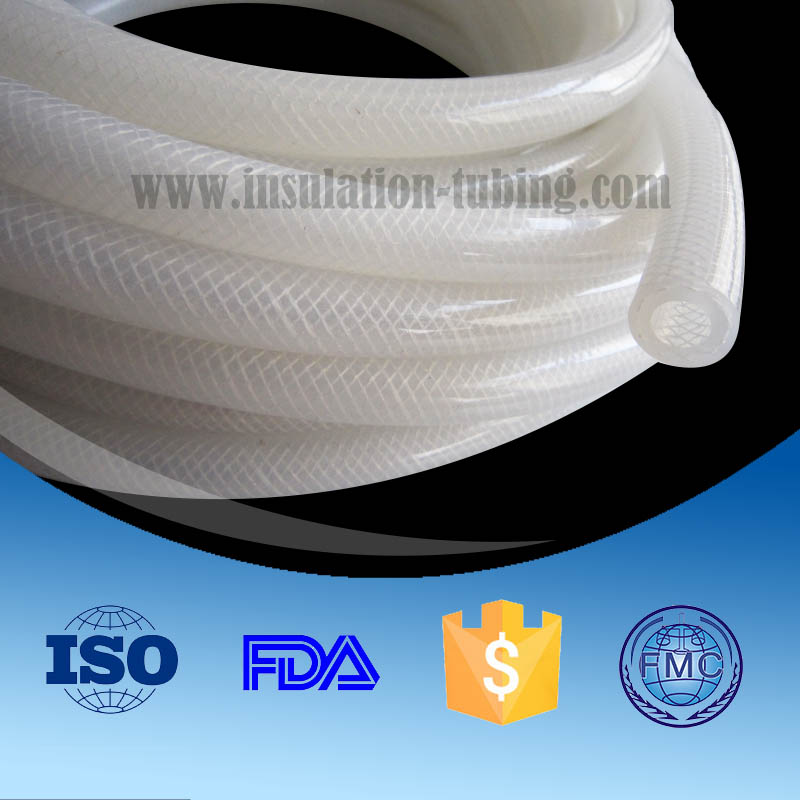 High Quality White Vacuum Rubber Silicone Hose China Supplier