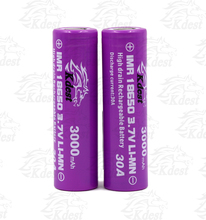 China supplier electronic market li-ion deep cycle 30a 3000mah rechargeable batteries for electronic cigarette