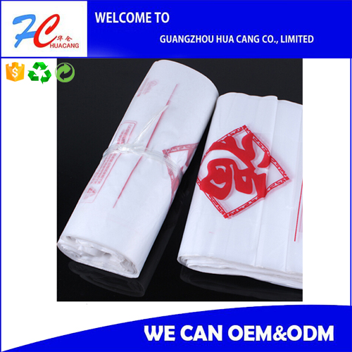 vest handle plastic carrier supermarket t-shirt plastic bag ,t-shirt bag