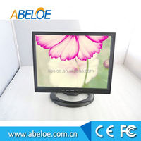 Customised 14 inch car LCD monitor with video input