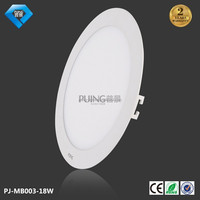 Zhong shan led lighting 18w Ultra thin small ceiling 18w square led panel light made in China