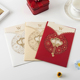 wholesale custom printing handmade doc wedding invitation card
