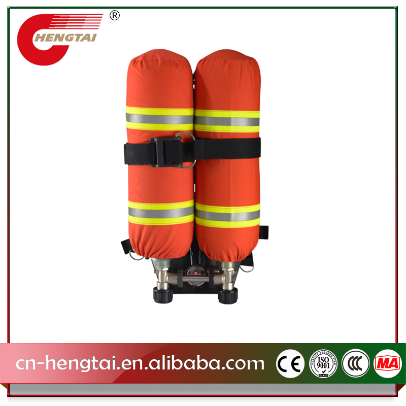 R6100 6.8*2 SCBA Compressed Positive Pressure Air Breathing Apparatus