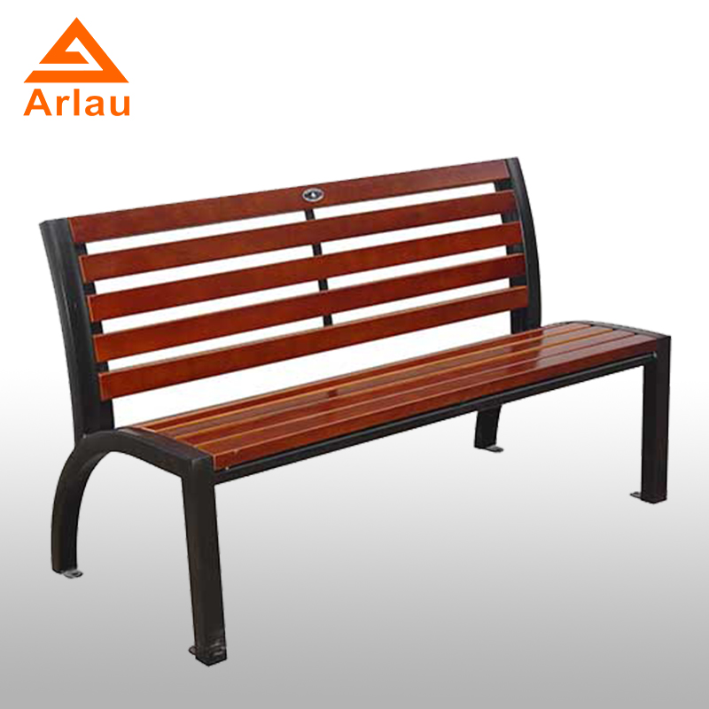 Arlau Super Comfortable Chair Long Wood Park Bench Chair Wood And