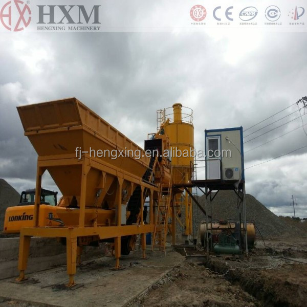 mobile precast concrete batch plant cement batching equipment