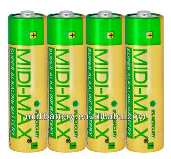 AM-3 toys Dry cell alkaline battery Free of Mercury