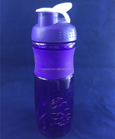 Colorful 760ml BPA free protein powder shake bottle