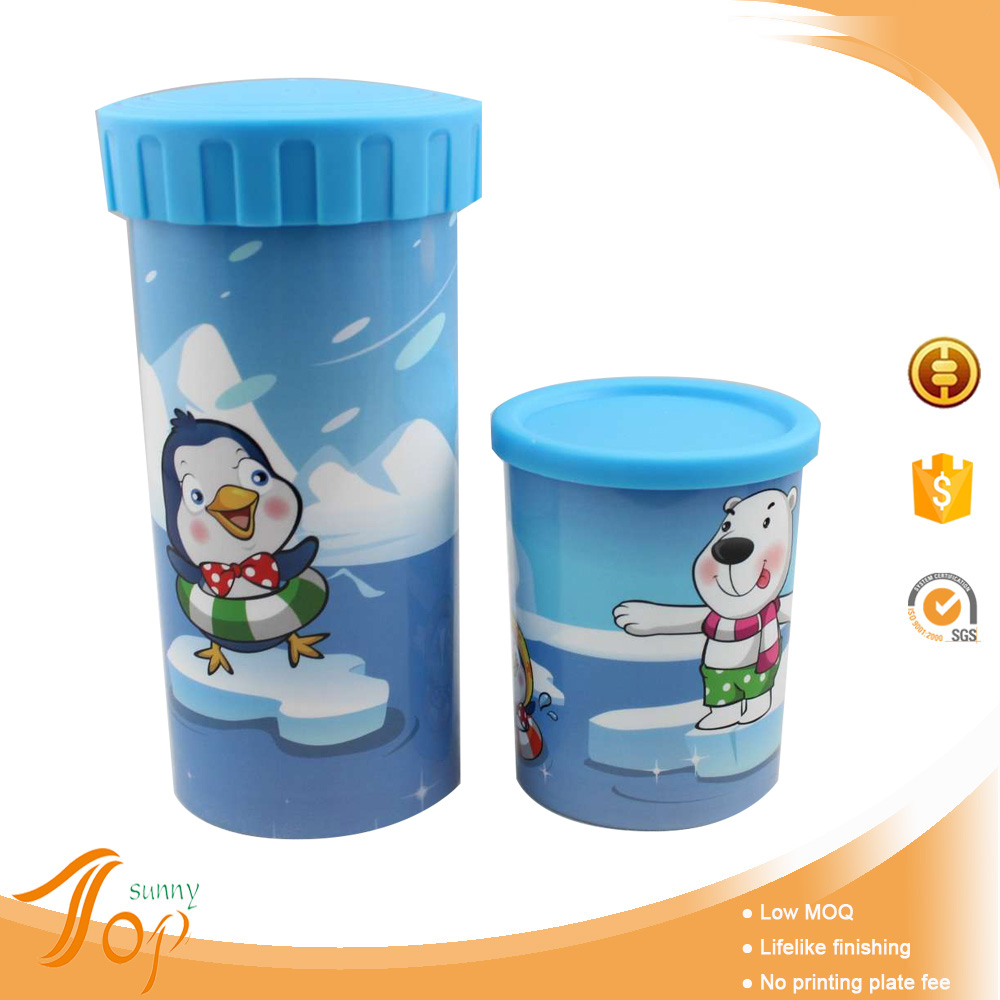 Disposable Happy Bear Design PP Cup Gift Items Low Cost