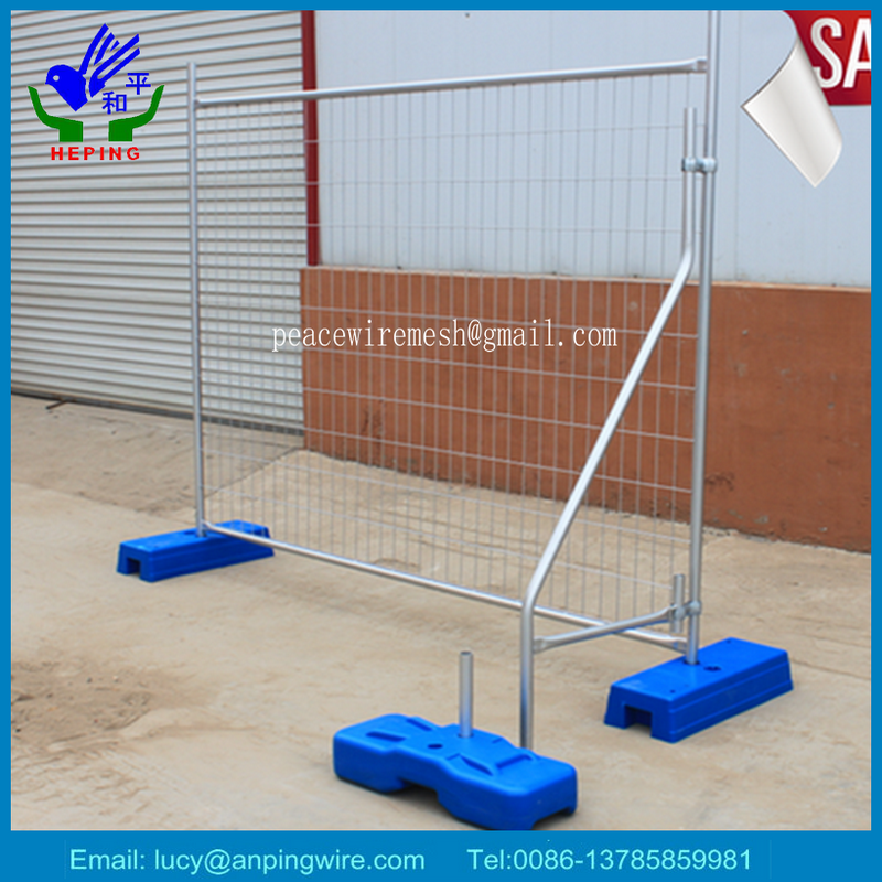 Easy relocation temporary fence from China direct factory