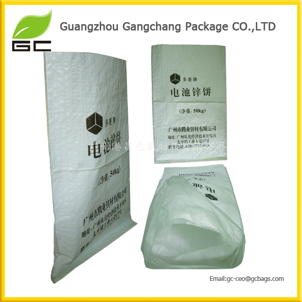 Fashion design custom plastic 50kg fertilizer bags
