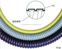 corrugated yellow drain piPVC,corrugated yellow piPVC,PA PVC PVC PVC corrugated yellow piPVC