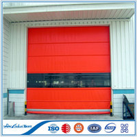 Rapid roll up door with sew motor 2016 new design PVC fabric shutter door