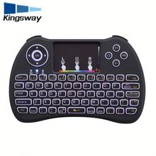 Latest model H9 LED Illuminated Ergonomic Gaming Keyboard USB Multimedia Colorful backlight Backlit Ultra-thin Keyboard