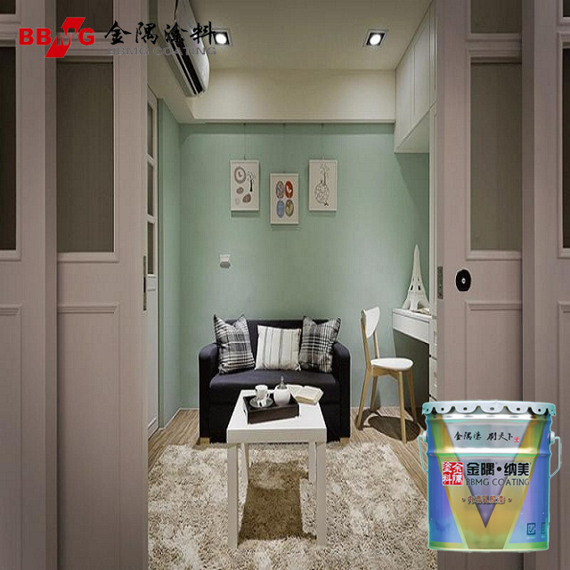 Acrylic inorganic chemicals build coating for interior wall latex paint
