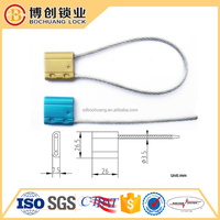 Metal Material and Sealing Strip Style Security Cable Seal