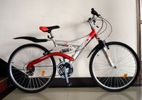 "strong simple red mountain bicycle 26"" SH-SMTB073"