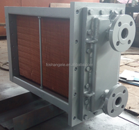 Waste Recovery Boilers Heat Exchanger type Economizers or Steam Radiators for Cooling Water