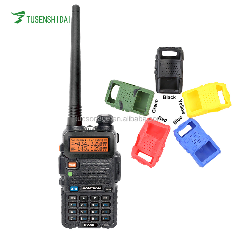 Baofeng BF-UV5R Radio Colorful Shell High Quality Silicon Rubber Case