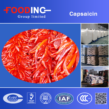 herbal extract canned food capsaicin powder in bulk price