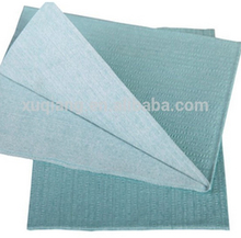 55%woodpulp+45%polyester Creped Industrial Nonwoven Fabric Wiping Rag