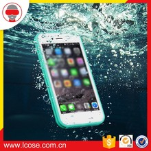 2016 Clear Back Soft silicone Acrylic Panel + TPU Bumper Ultra- hybrid waterproof phone case for iPhone 7