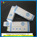 Hot sell custom toothpaste packaging box