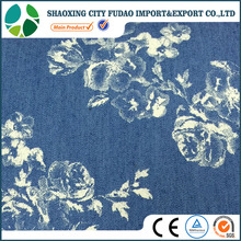 Hot sale popular wholesale shirting fabric printing denim shirting fabric