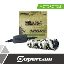 Hot Sale Full HD Camouflage Edition Mini Motorbike Dashcam with Motorbike Charger Kit