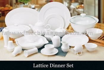 Certifiacted High Quality 20pcs Porcelain Dinner Set