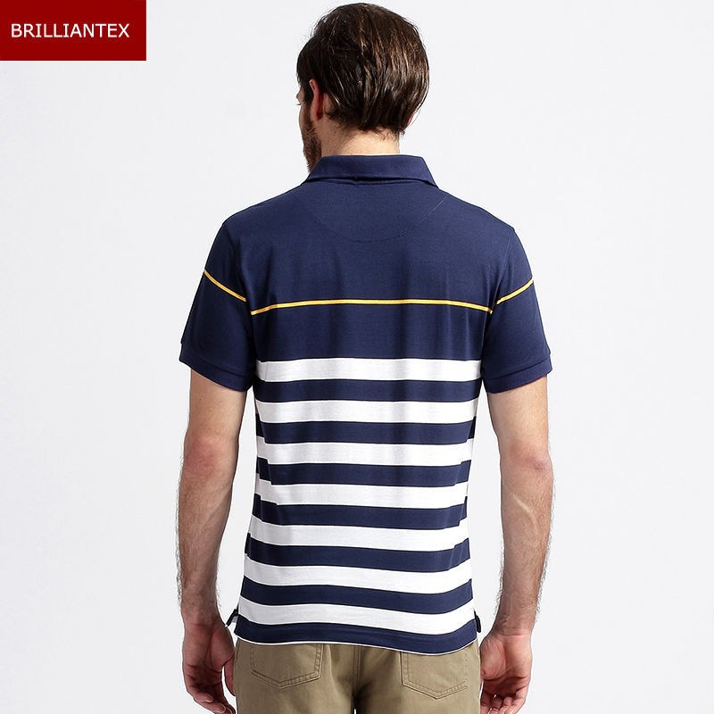 Wholesale yarn dye striped polo shirt stocklots cotton for Buy wholesale polo shirts