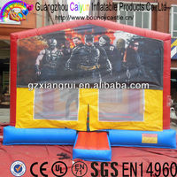 Factory sale inflatable bouncer toy playhouse