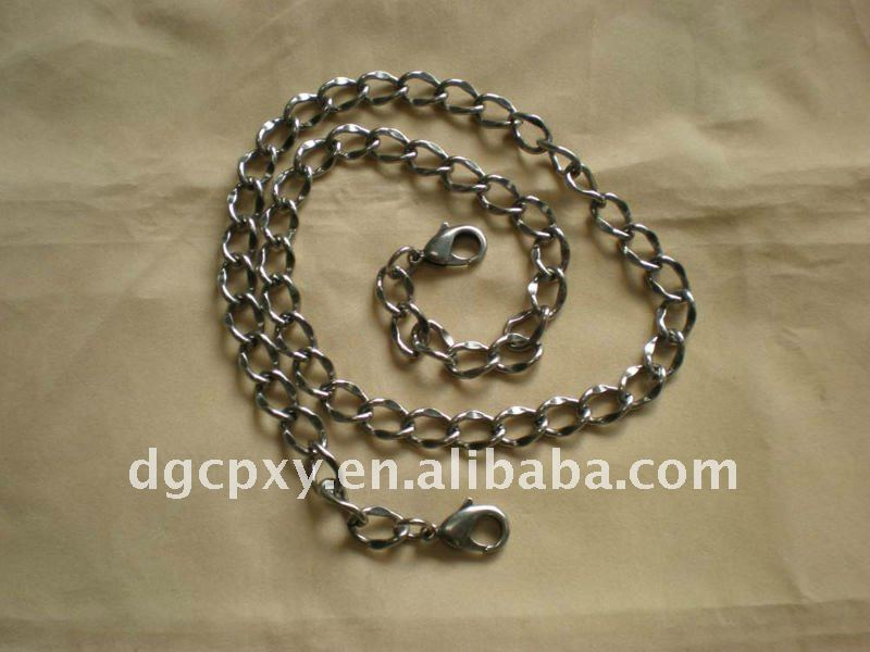 Detachable metal purse chains
