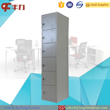 Cheap Staff Clothing Single 6 Door Metal Steel Locker