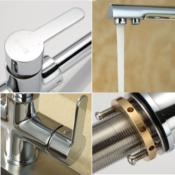3 way Italy design single handle LC982056k brass delta artistic wolverine kitchen faucet