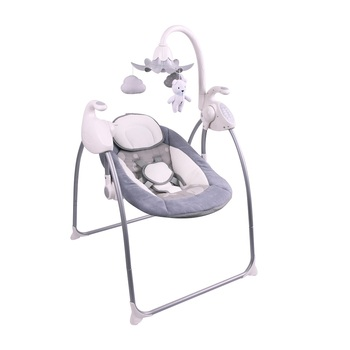 Indoor Automatic Baby swing chair with Bluetooth music and multiple Speed baby chair