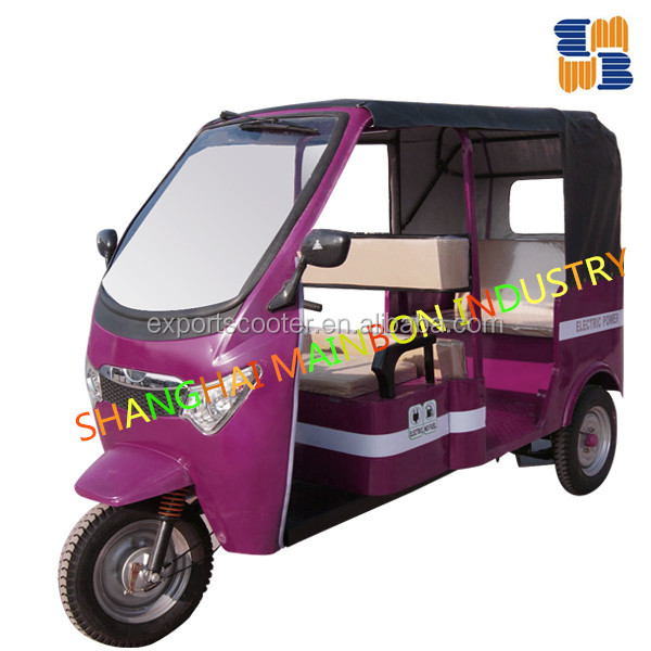 60v Poweful Electric tricycle, electric rickshaw, autorickshaw, three wheeler, tuktuk, pedicab, trisha,trike,trishaw