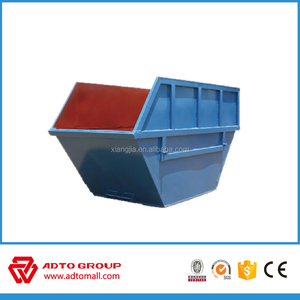 Grade A steel garbage bins direct buy from factory for waste recycling skip bins