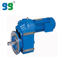 Shanghai Goldgun industrial transmissions F Series Parallel shaft helical Gear Speed Reducer