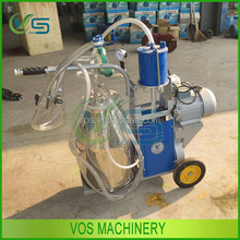 We love milk and healthy life goat milking machine