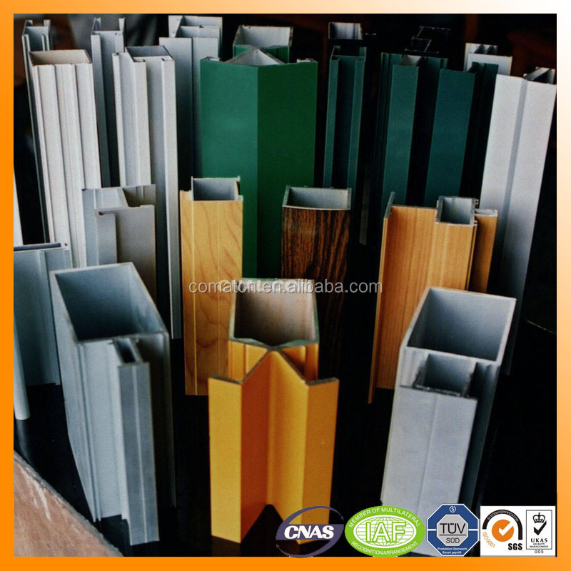 curtain wall aluminum profile from top3 aluminum manufacturer in China