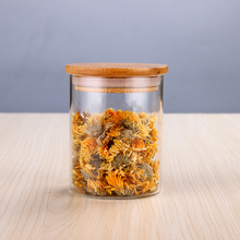 Hand-poured spiced borosilicate 6 ounce <strong>glass</strong> <strong>jar</strong> with cork cover