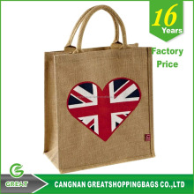 waterproof slogan jute bag manufacturers