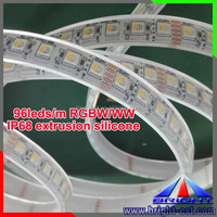 4-in-1 5050 RGBW IP68 Extrusion Silicone Waterproof LED Strip