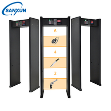 High quality door frame security metal detector airport security body scanner