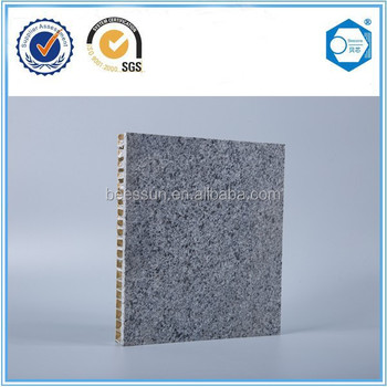 Building construction material of aluminum honeycomb panel, raw material for corrugated roofing sheet